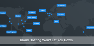 cloud hosting won't let you down