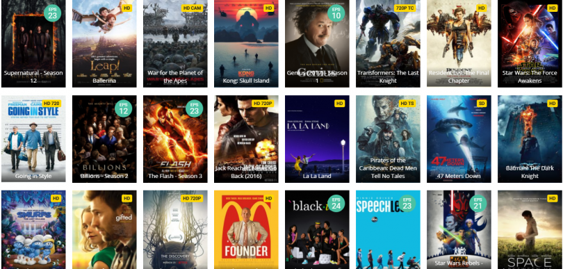 free movie and tv streaming websites